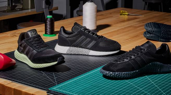 factory authentic b68ee 174af Adidas Never Made Collection Gets a Triple Black Makeover