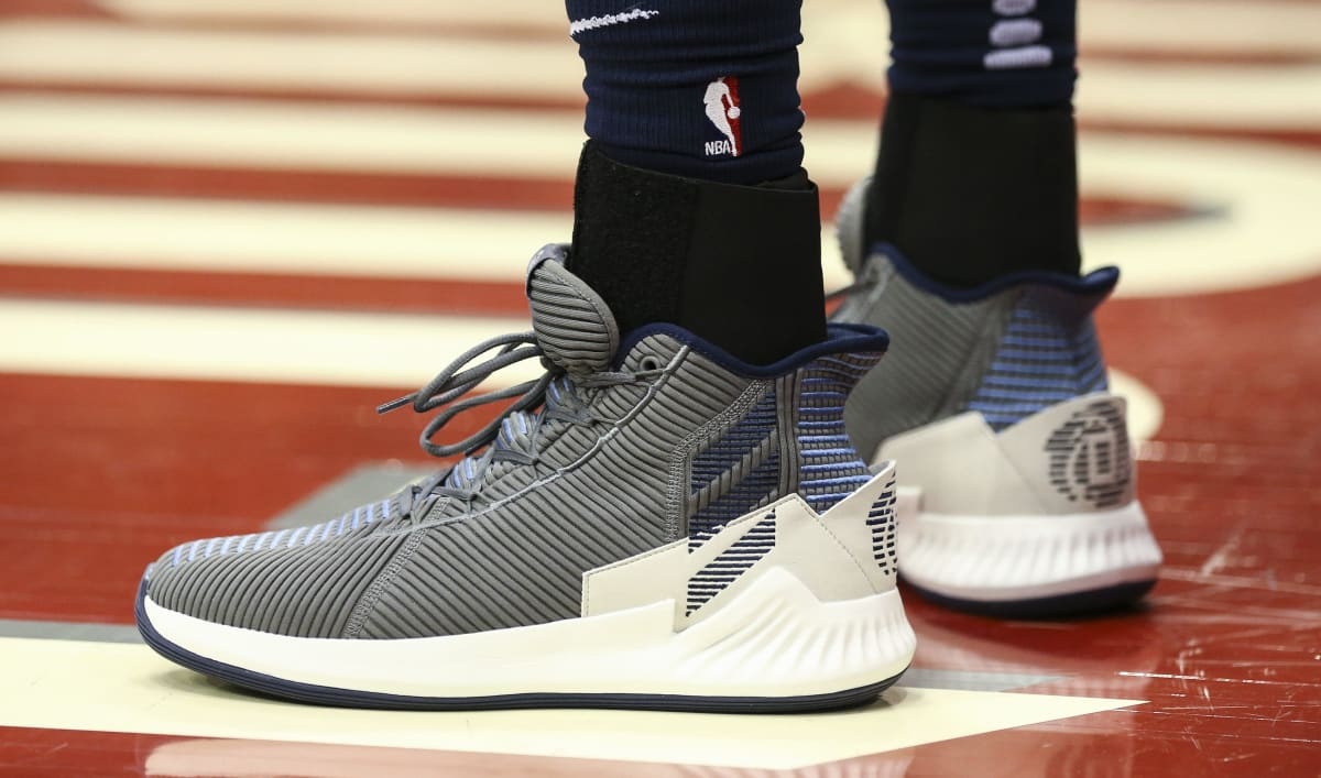 82d426df6f79 ... Basketball Shoes  Official Images Derrick Rose Debuts the Adidas D Rose  9 in the NBA Playoffs Sole Collector ...