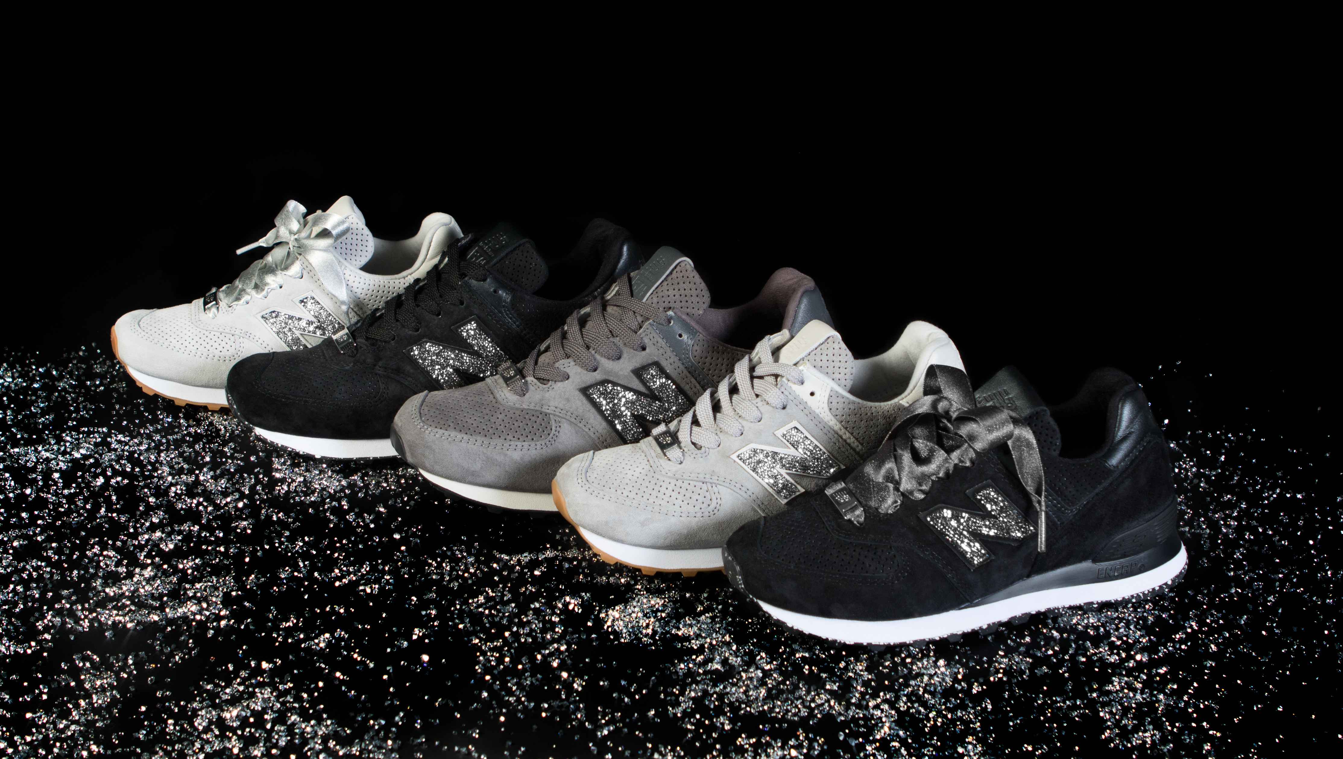5fed133eb1d36 Swarovski x New Balance NB1 574 Collection Release Date | Sole Collector