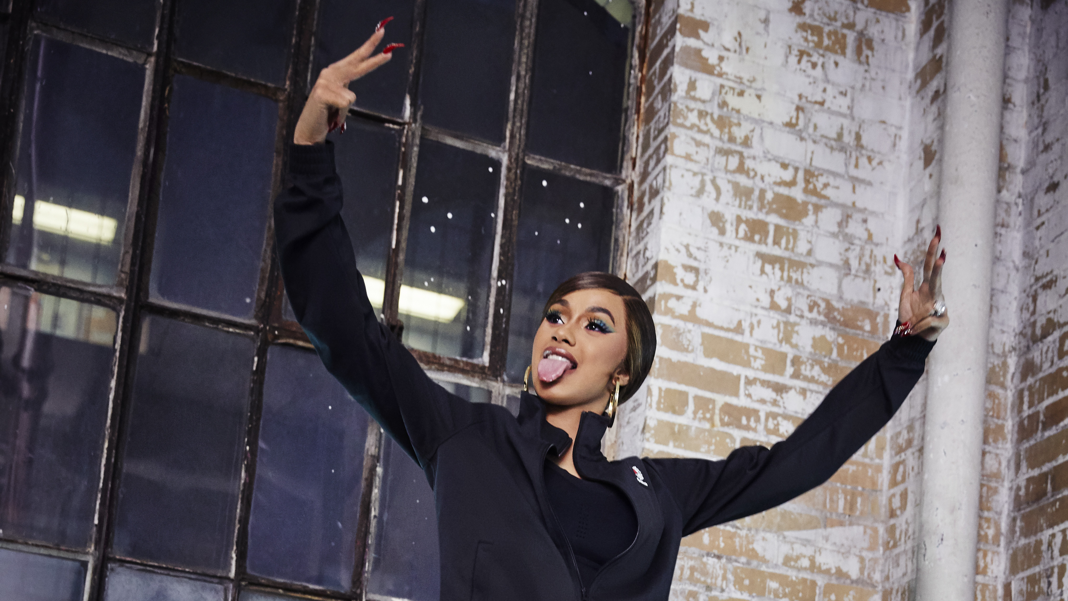 4ee6061b226 Cardi B Officially Partners With Reebok
