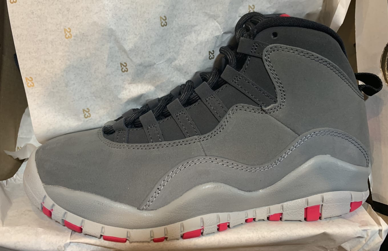 4c36c2ea6d0922 Air Jordan 10 X Retro  Dark Smoke Grey Rush Pink  487211-006 Release ...
