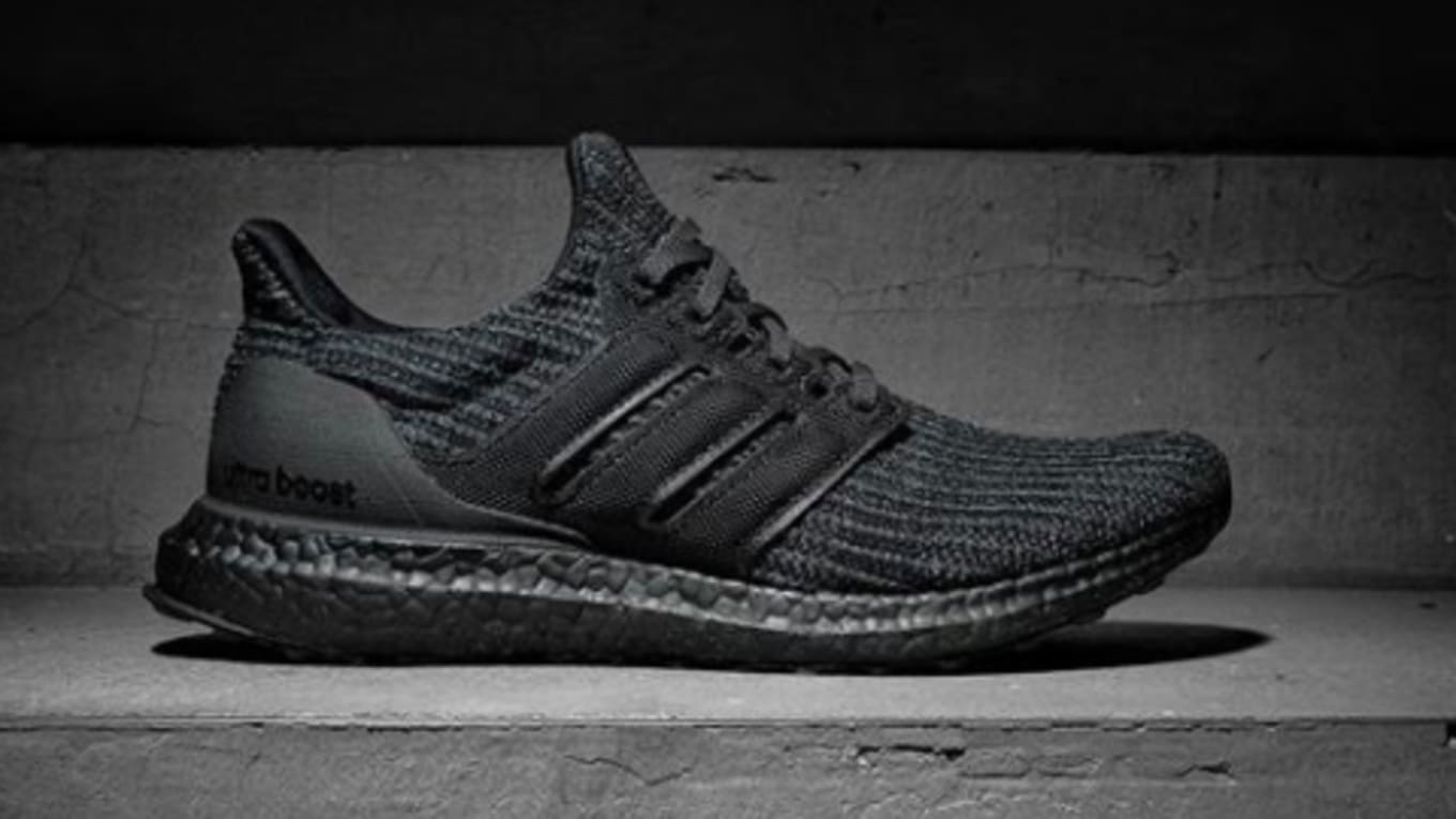 pretty nice db022 349fb Adidas Ultra Boost 4.0 'Triple Black' | Sole Collector