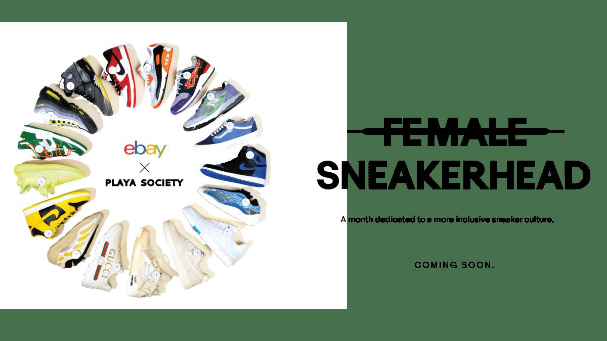 eBay Is Celebrating Female Sneaker Fans With Latest Initiative