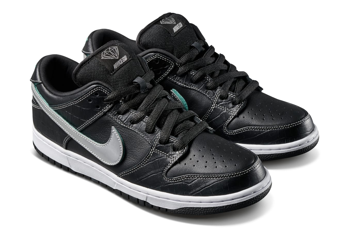 watch 84851 a4a65 Release Details for the Black Diamond SB Dunk Low