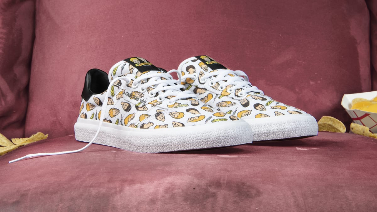 'Beavis and Butt-Head' Inspired This Adidas Skateboarding Collection