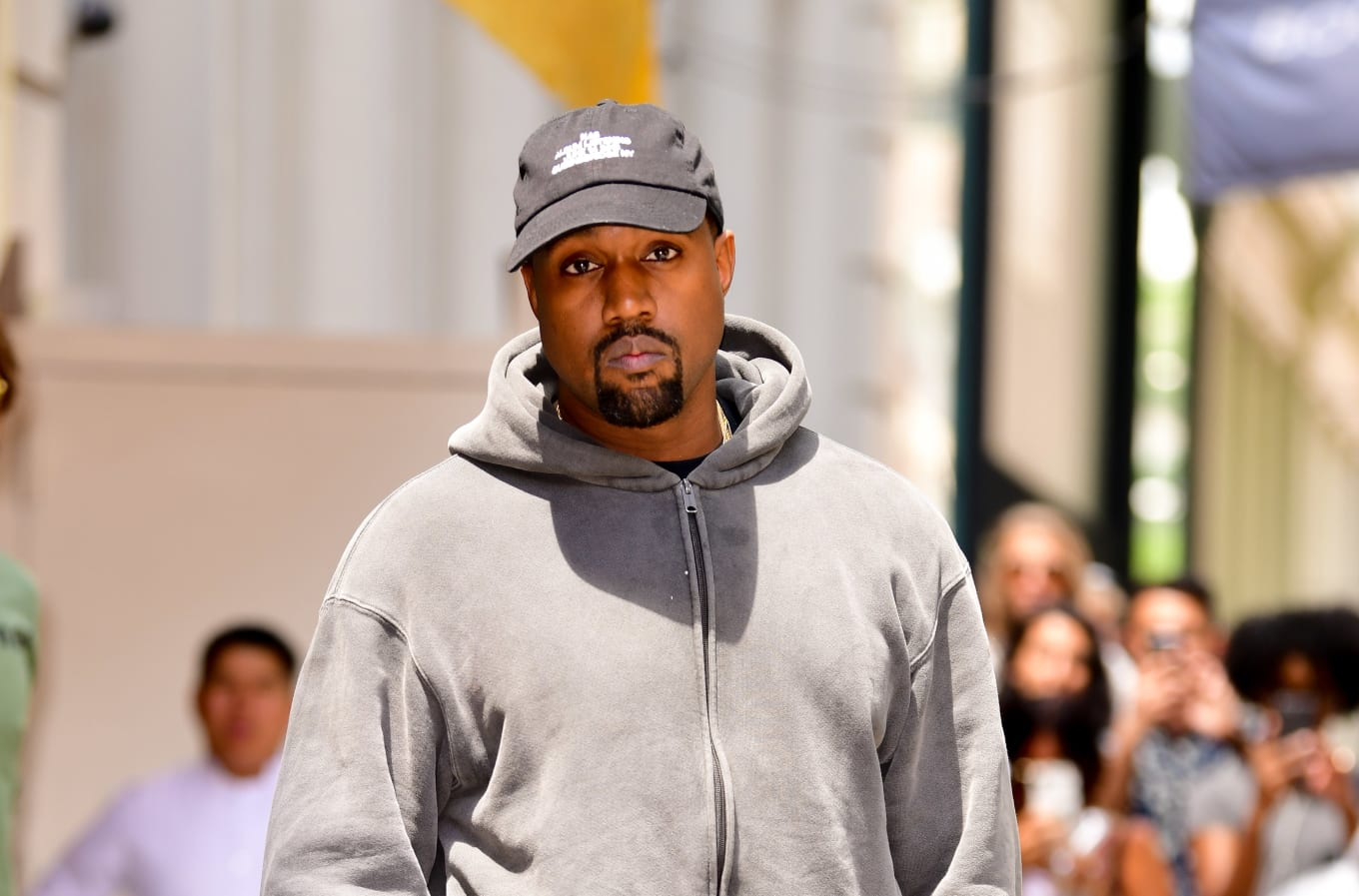 075cd7dd5 Kanye West Says He s Giving a Homeless Man Free Yeezys