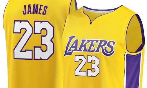 newest ca6ee 0051b LeBron James Los Angeles Lakers Jerseys Selling Out | Sole ...