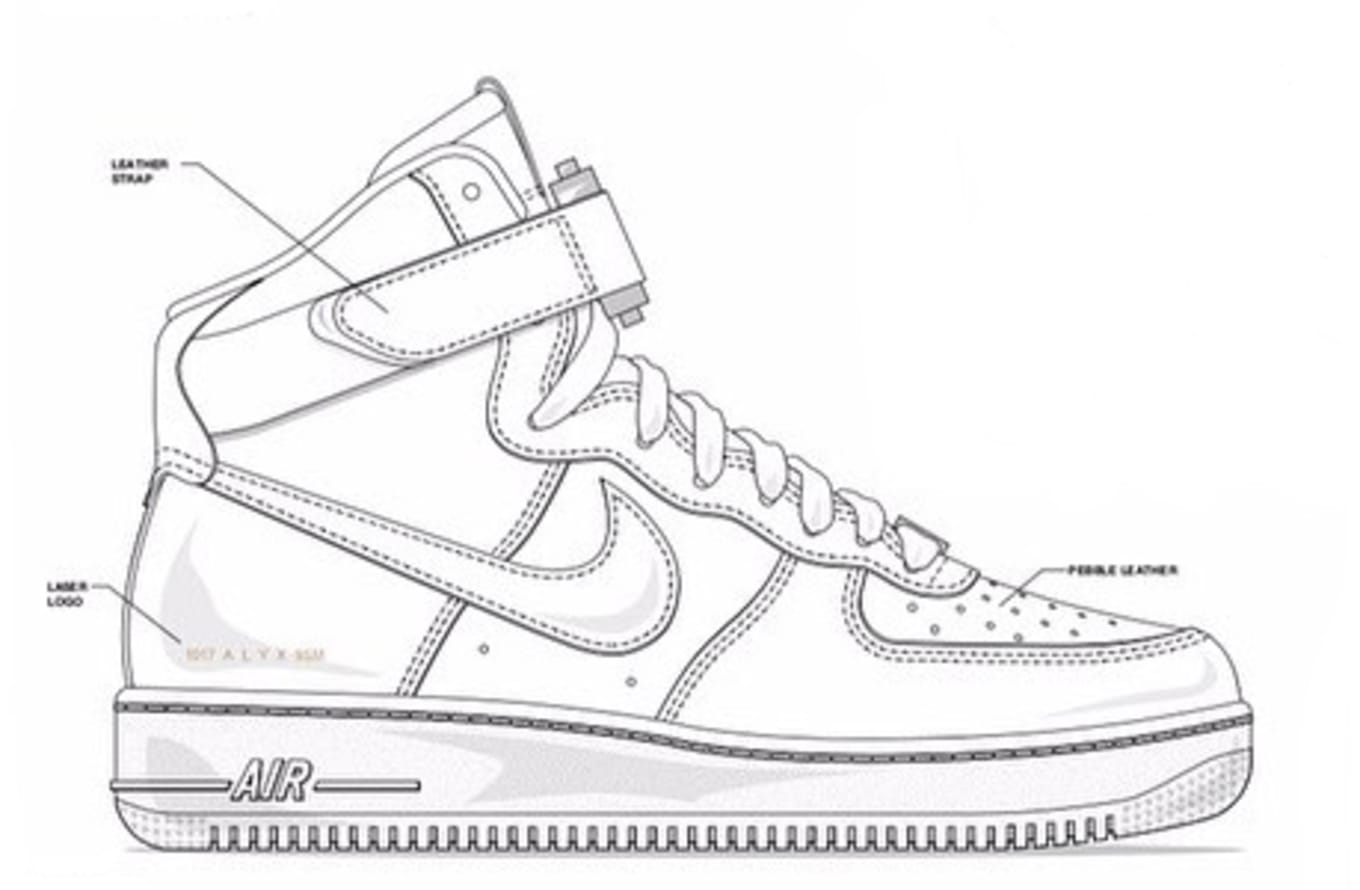2b43c84533a2da Alyx x Nike Air Force 1 Preview
