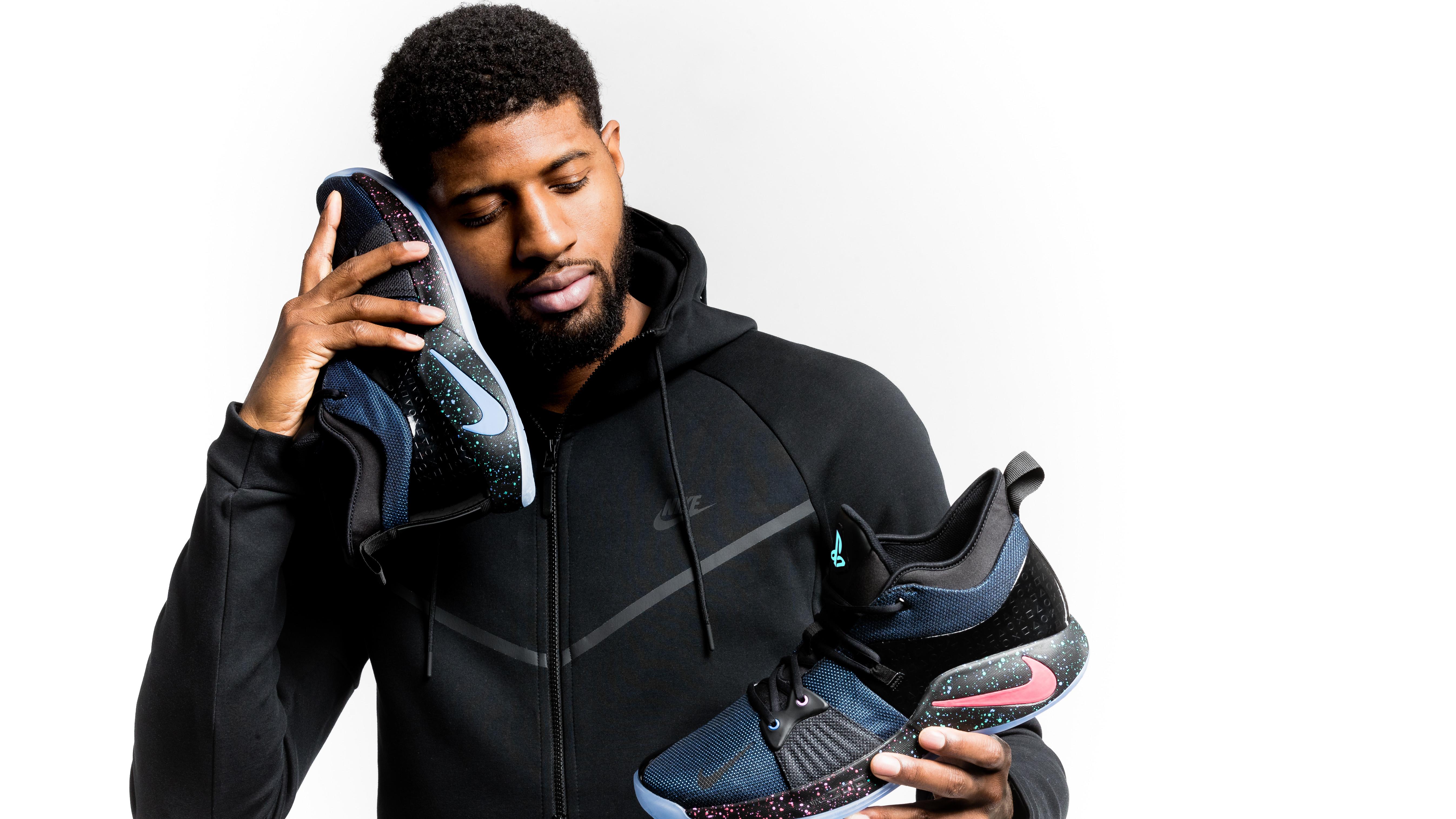 b7b5af42ffd Paul George Debuts Nike PG2 Sneaker