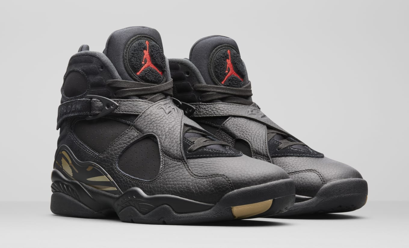 new products ce681 81645 Air Jordan 8 Retro x OVO Black Metallic Gold-Varsity Red-Blur (OVO)