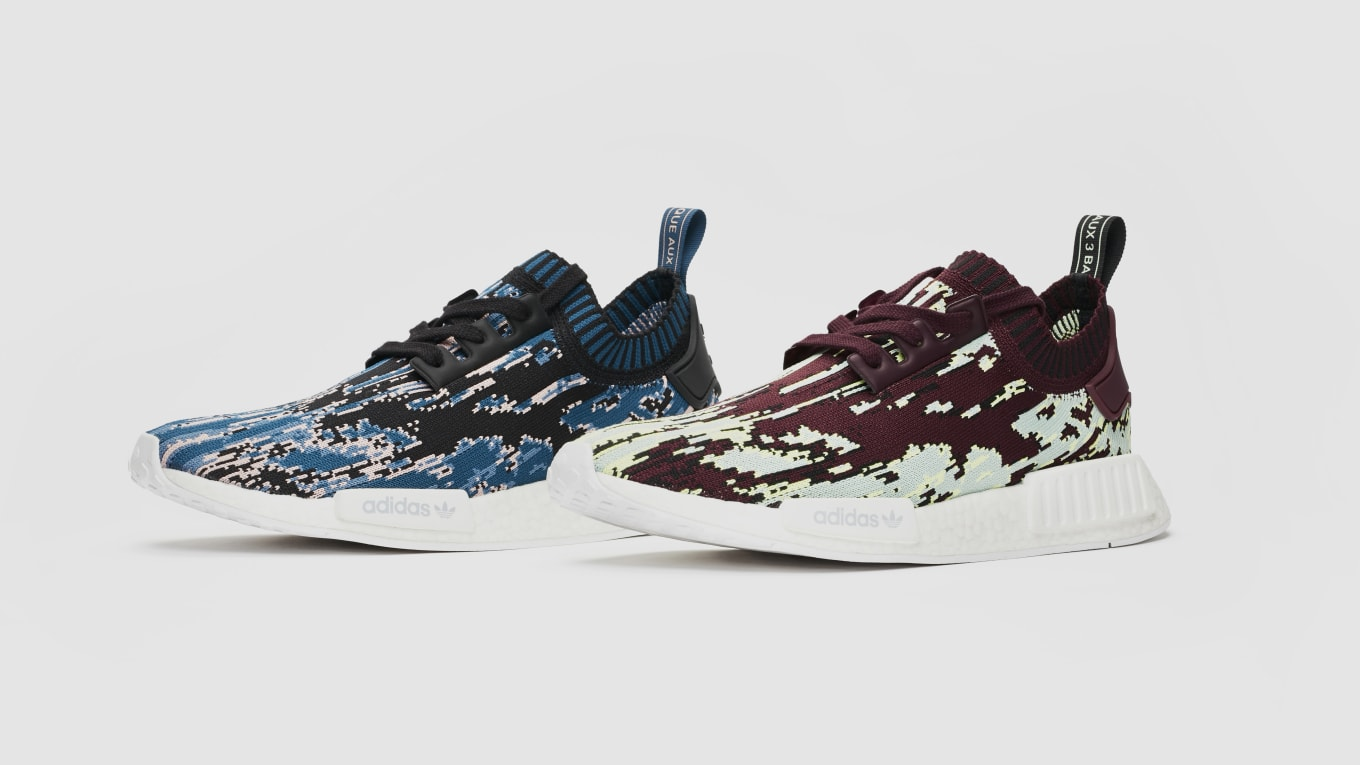 9df3e025553c Sneakersnstuff x Adidas NMD R1  Datamosh 2.0  Pack