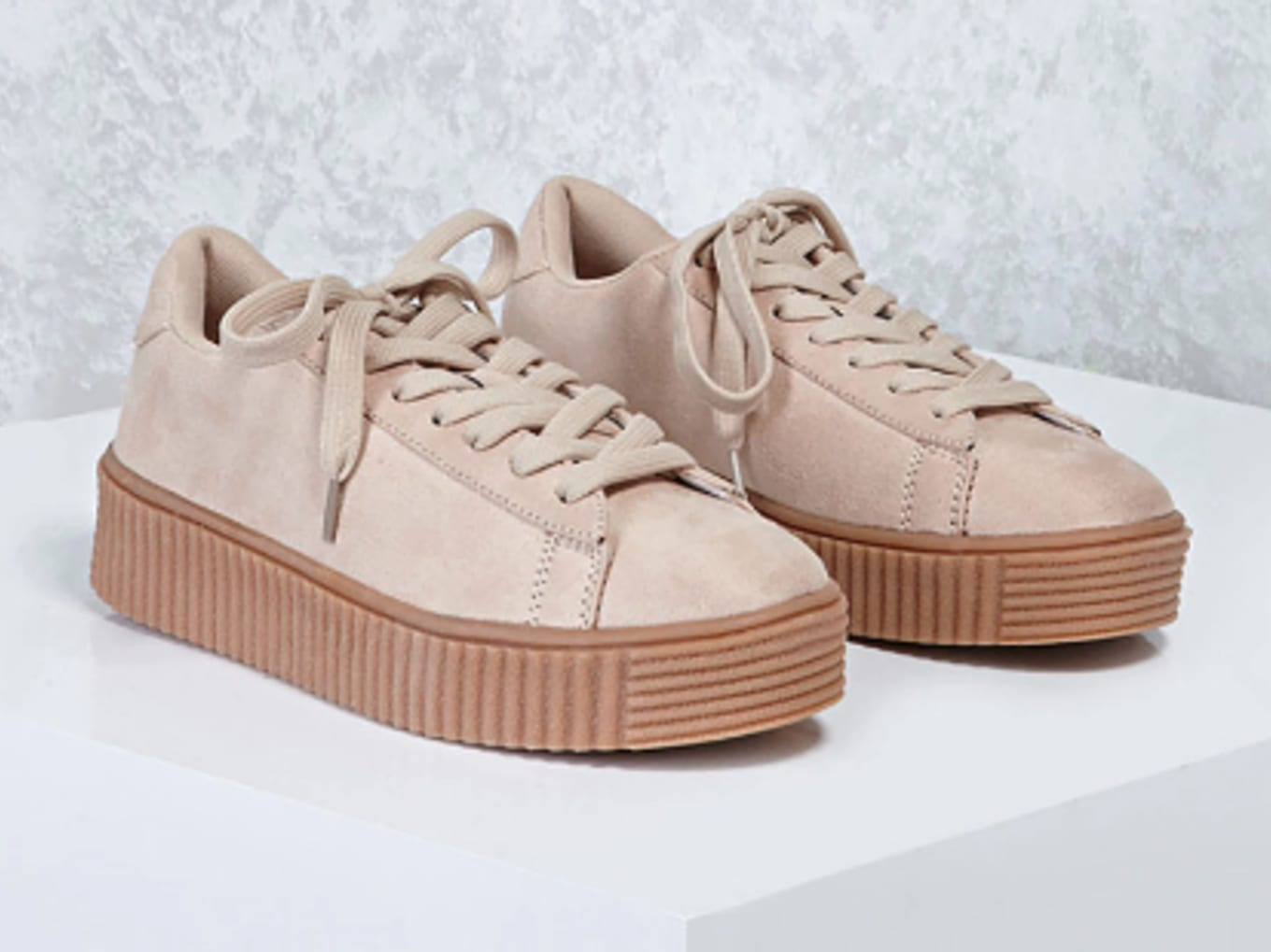 Blatant copies of the Fenty by Rihanna sneakers. 9136a5ab8