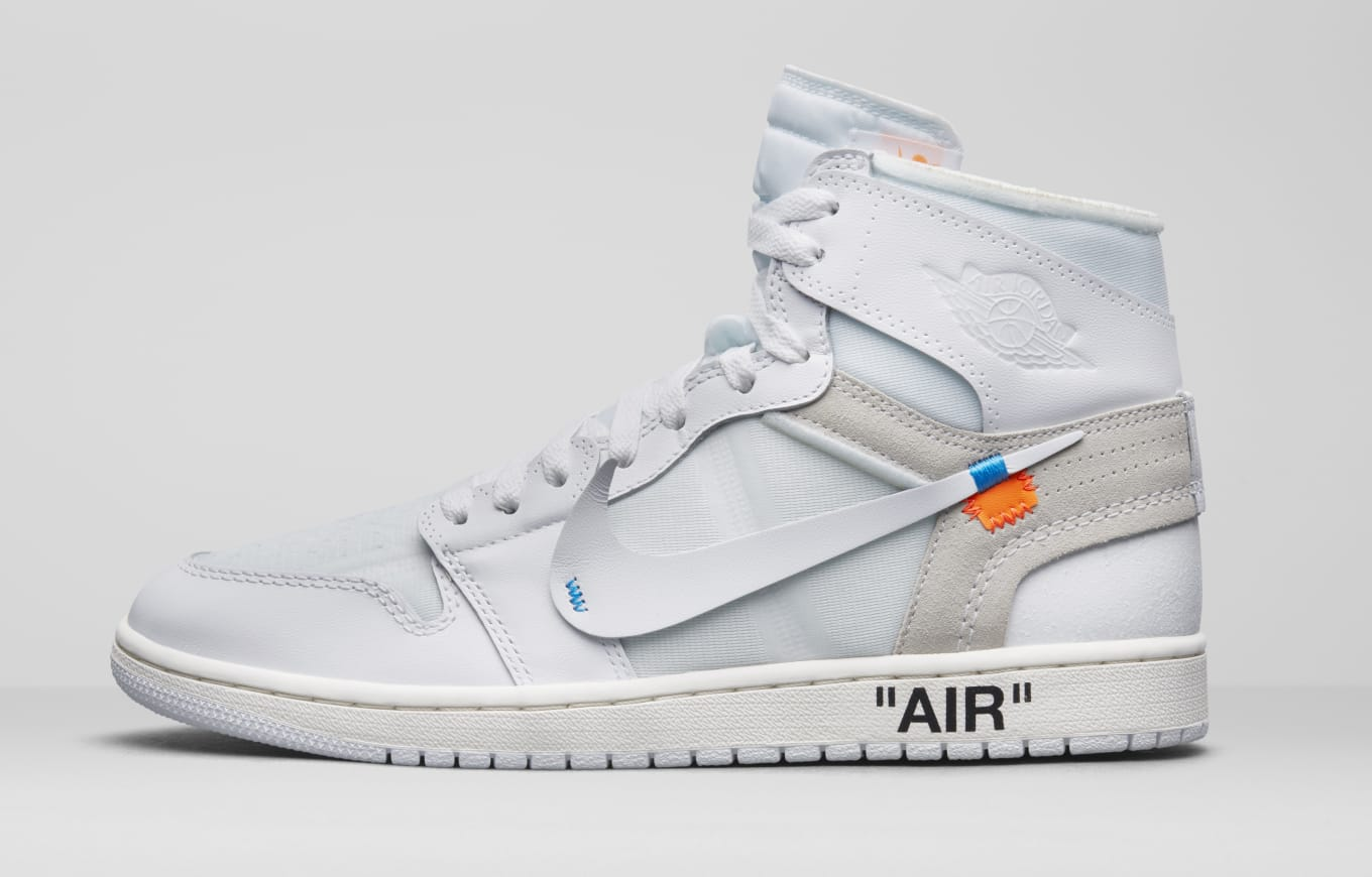 6cf128800810ea Off White Air Jordan 1 AQ0818-100 Release Date