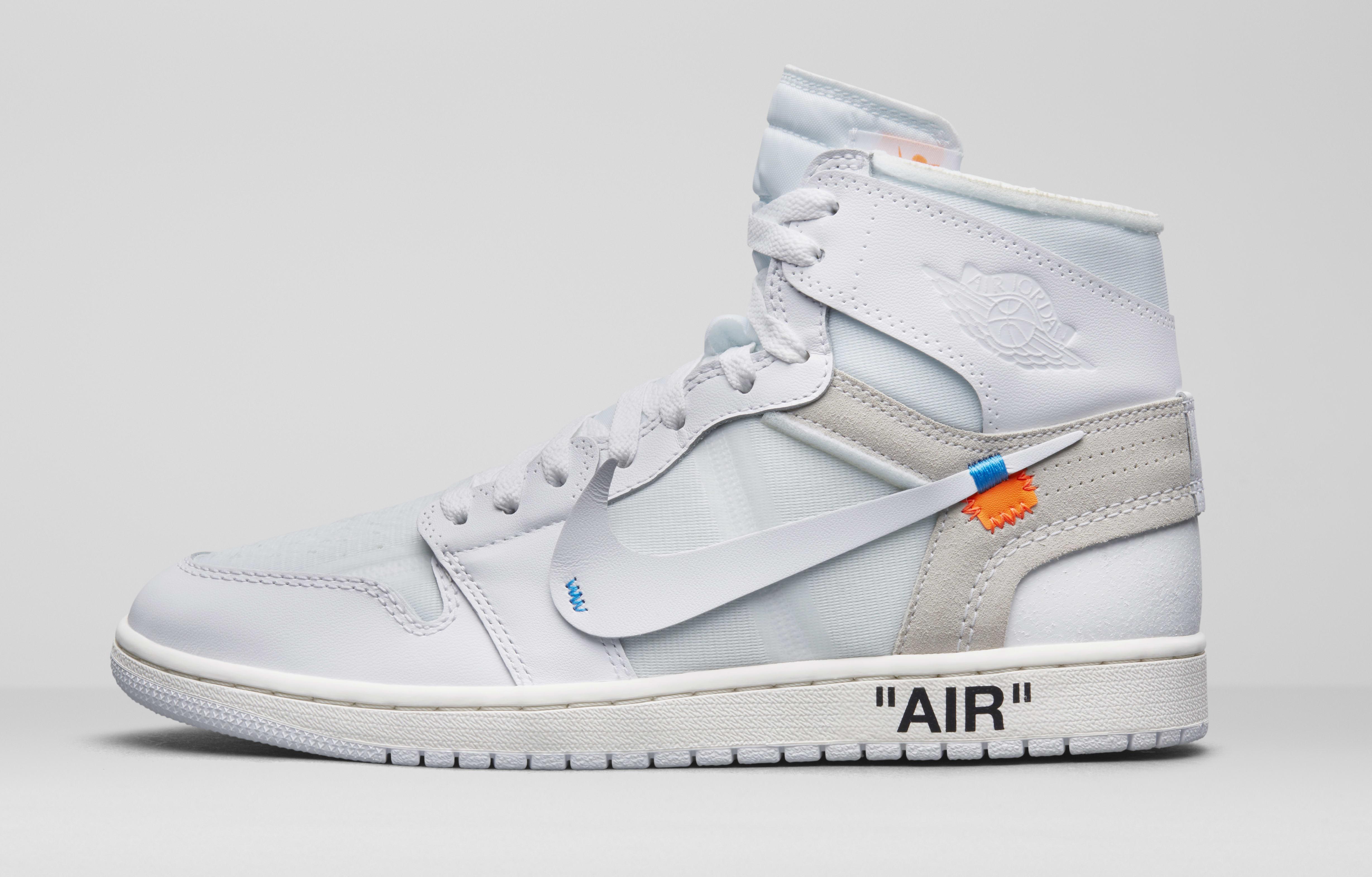 350 - Sneaker low - white, blue, off white