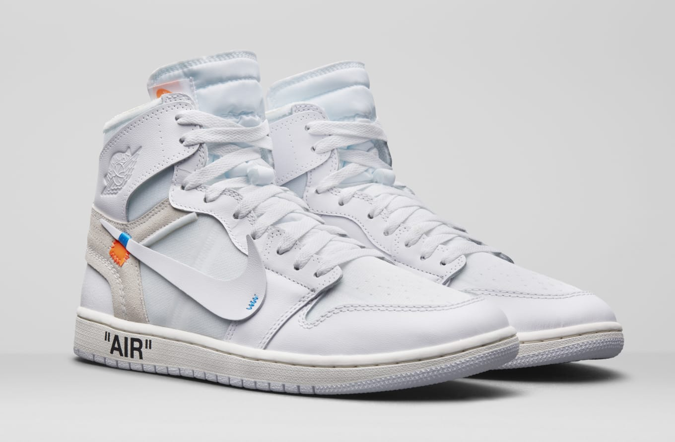 6b81d85a2a7d9 Where to Buy  White  Off-White x Air Jordan 1s