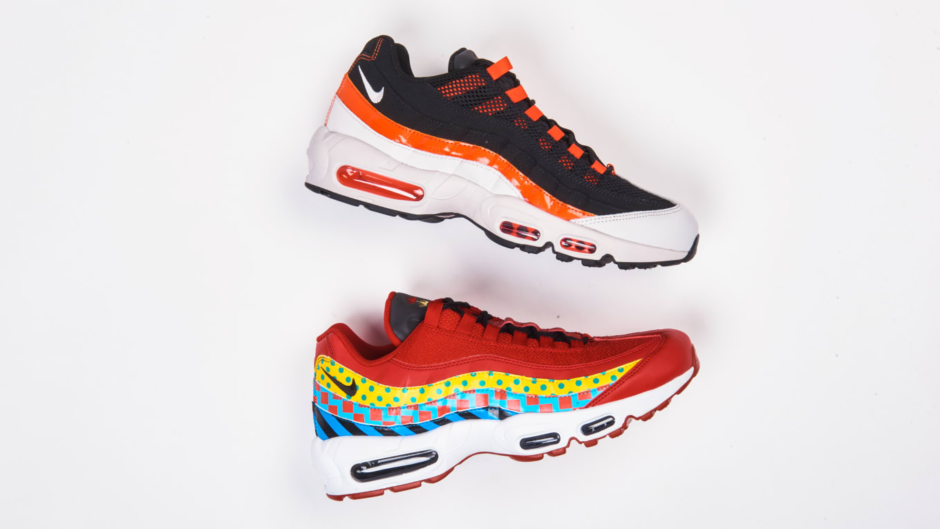 a85e62f03f Nike Air Max 95 Baltimore 'Home and Away' Pack Release Date | Sole ...