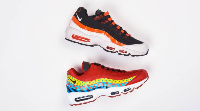 low priced abe7b 3ef4c These Nike Air Max 95s Celebrate the City of Baltimore