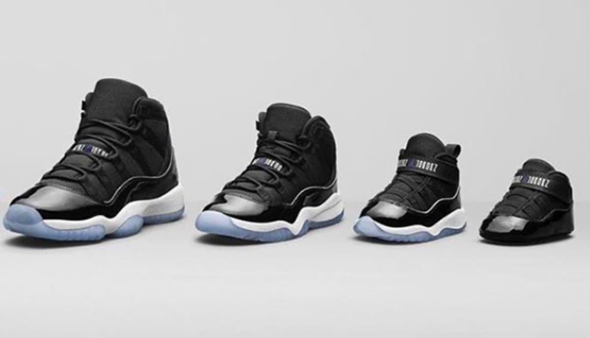 Air Jordan 11 Quot Space Jam Quot Restock For Kids Sole Collector