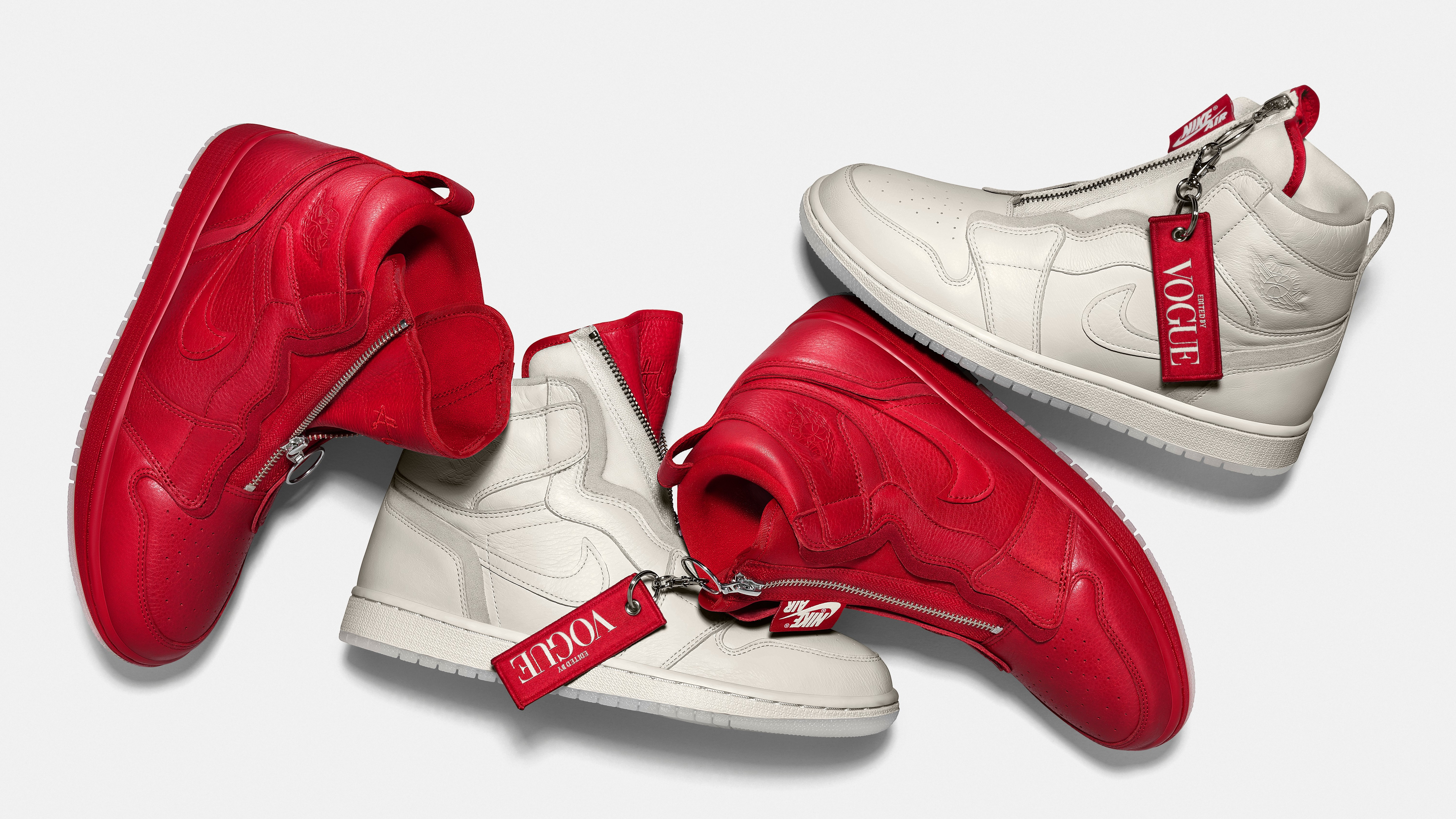 61337d69091c Here s How People Are Reacting to the Vogue x Air Jordans