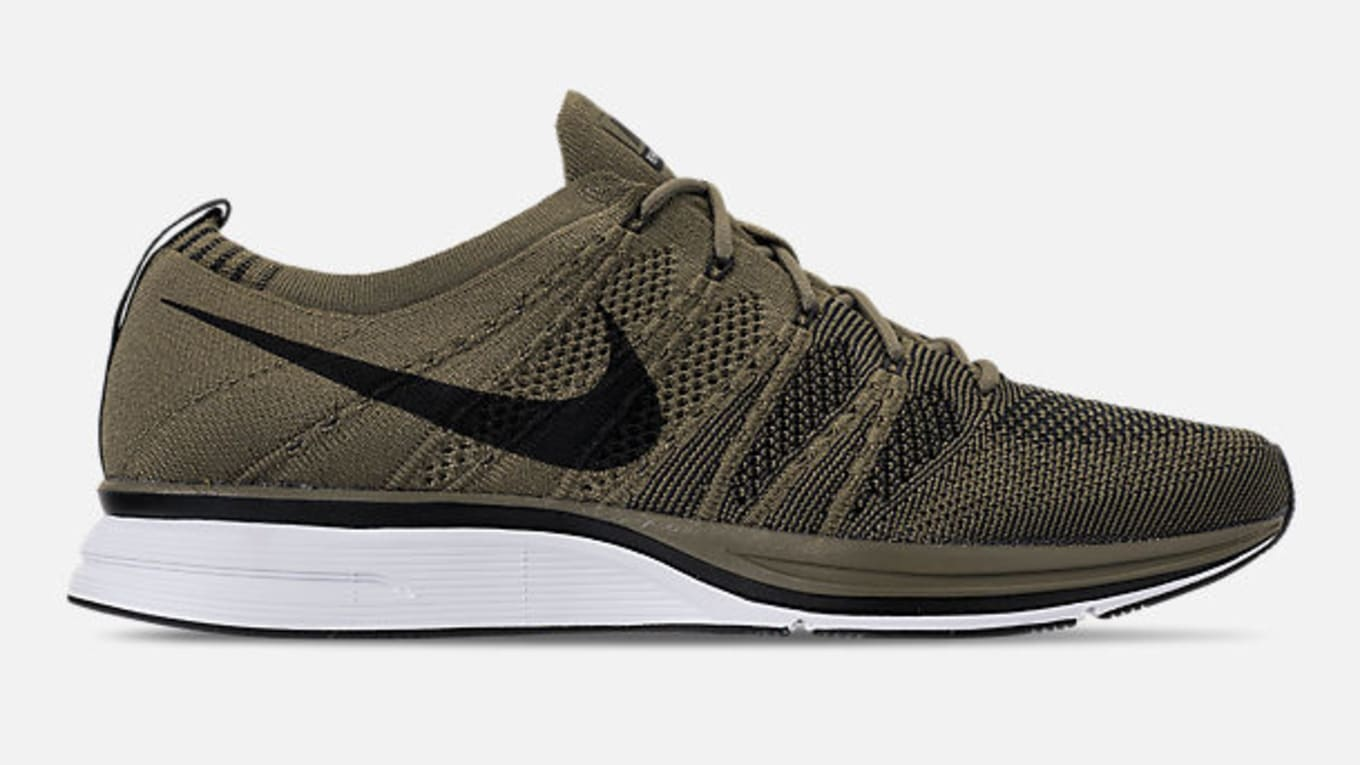 81cde3624d55f Nike Flyknit Trainer  Olive