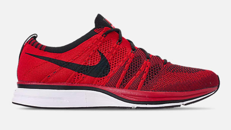 24481d3d2d8d Nike Flyknit Trainer  University Red . Nike Flyknit Trainer. Image via Finish  Line
