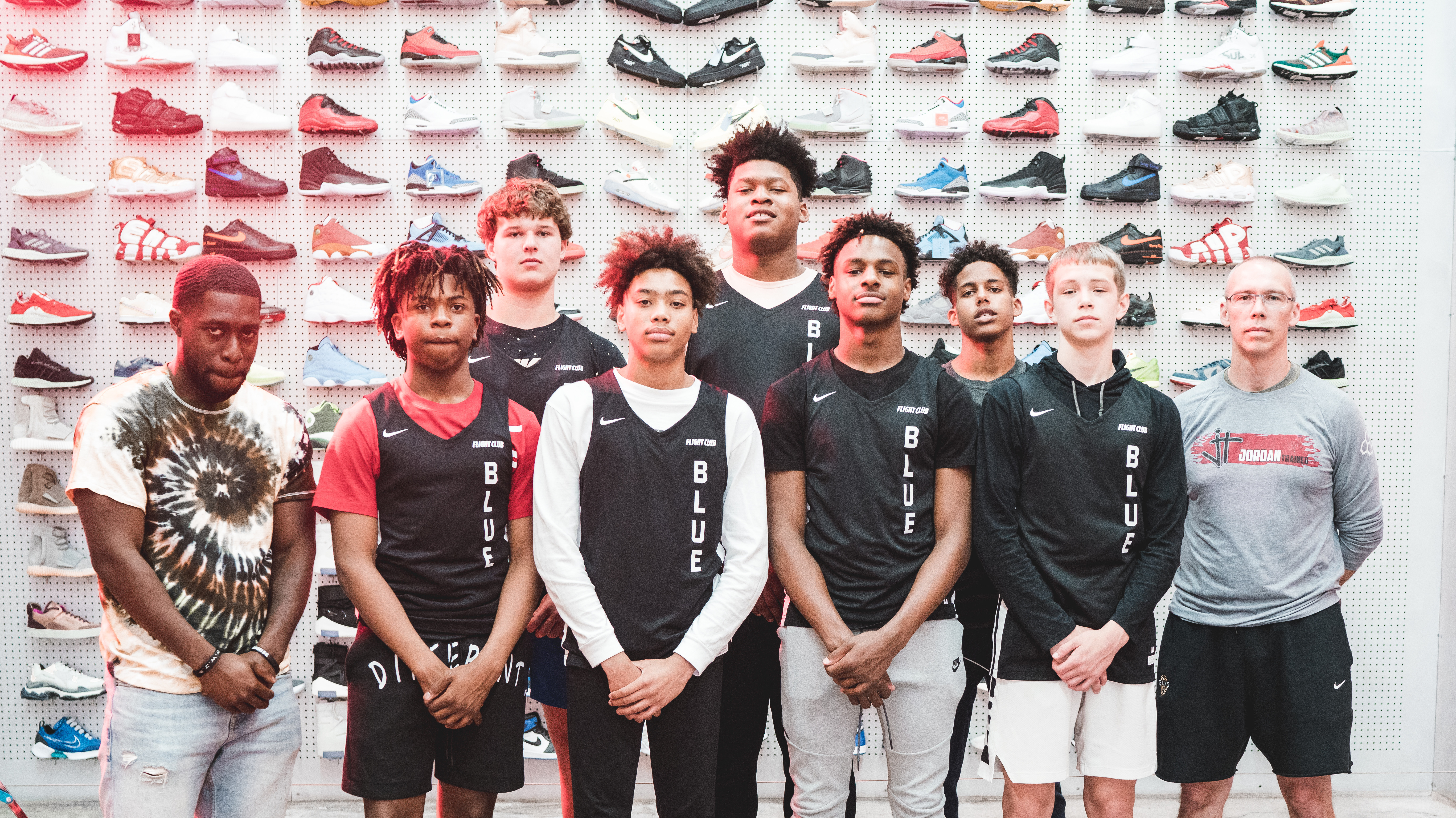 size 40 f07cb c6501 Flight Club Is Going to Sponsor LeBron James Jr. s AAU Team   Sole Collector