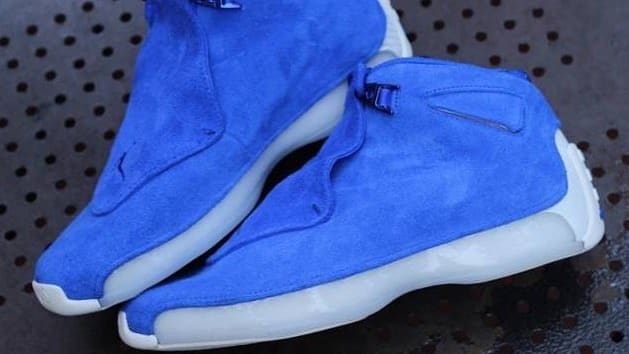 0affd89abcd clearance air jordan 18 low blue yellow 66164 52d82
