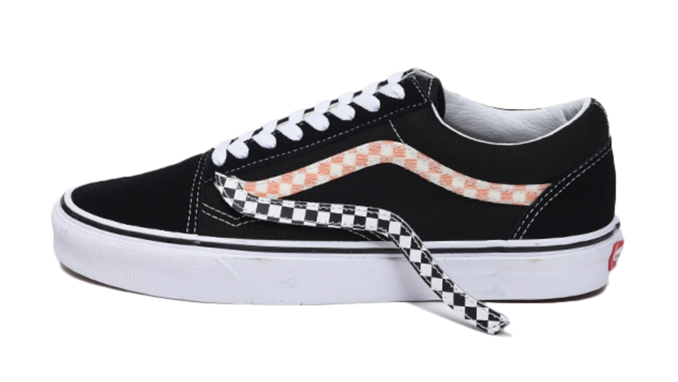 Vans Old Skool  Black   True White  Removable Sidestripe Release ... e49d97047