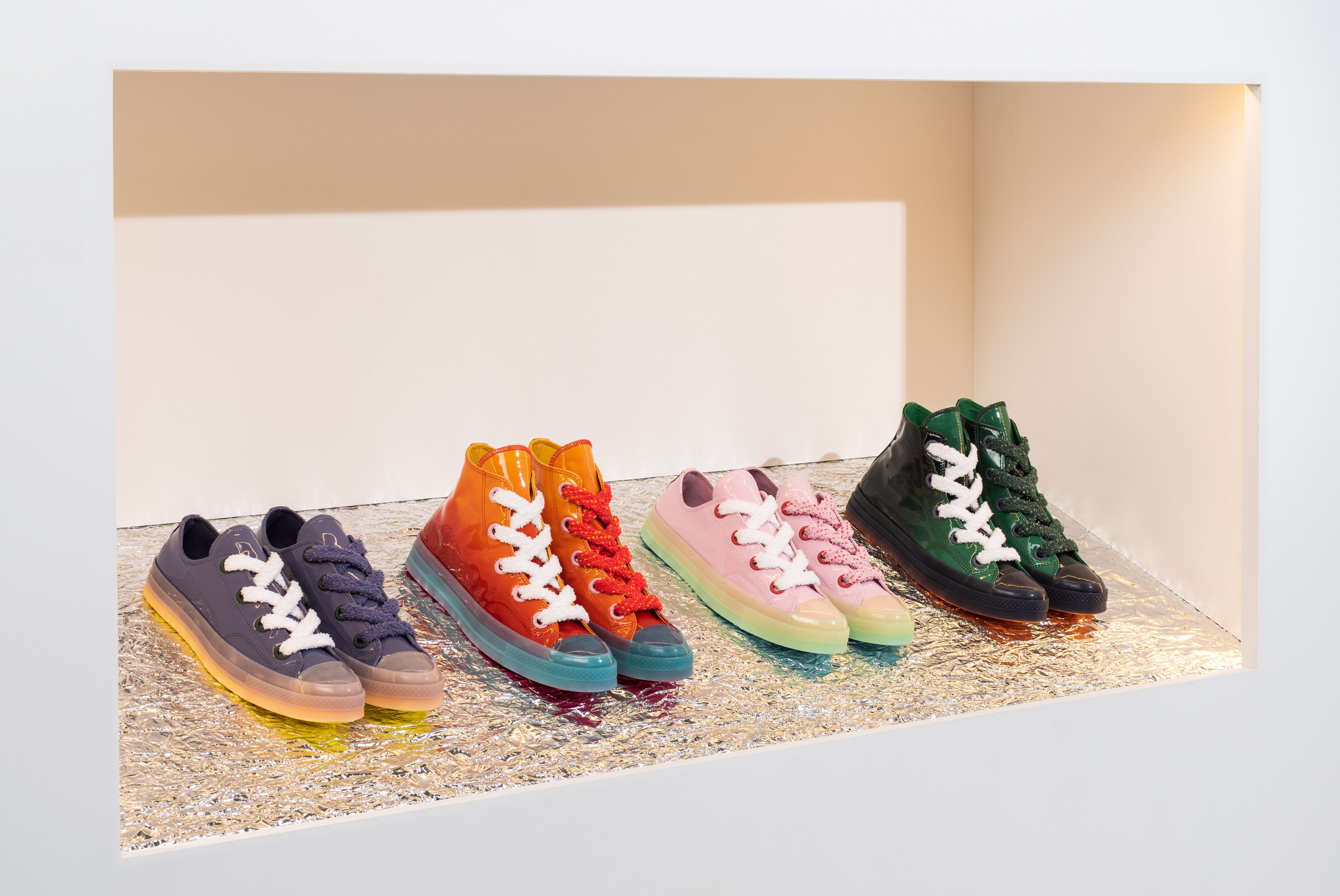 be31d5581730 ... Taylor All Star 70 High  J.W. Anderson Spring 2018  JW Anderson x  Converse Chuck 70 Toy Collection Release Date ...