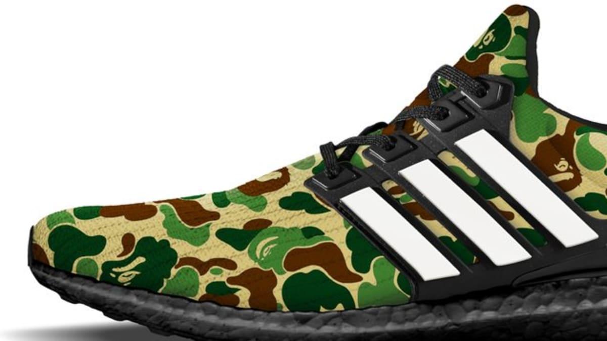 791a9cf45 Bape x Adidas Ultra Boost Collaboration Release Date - Premier Kicks