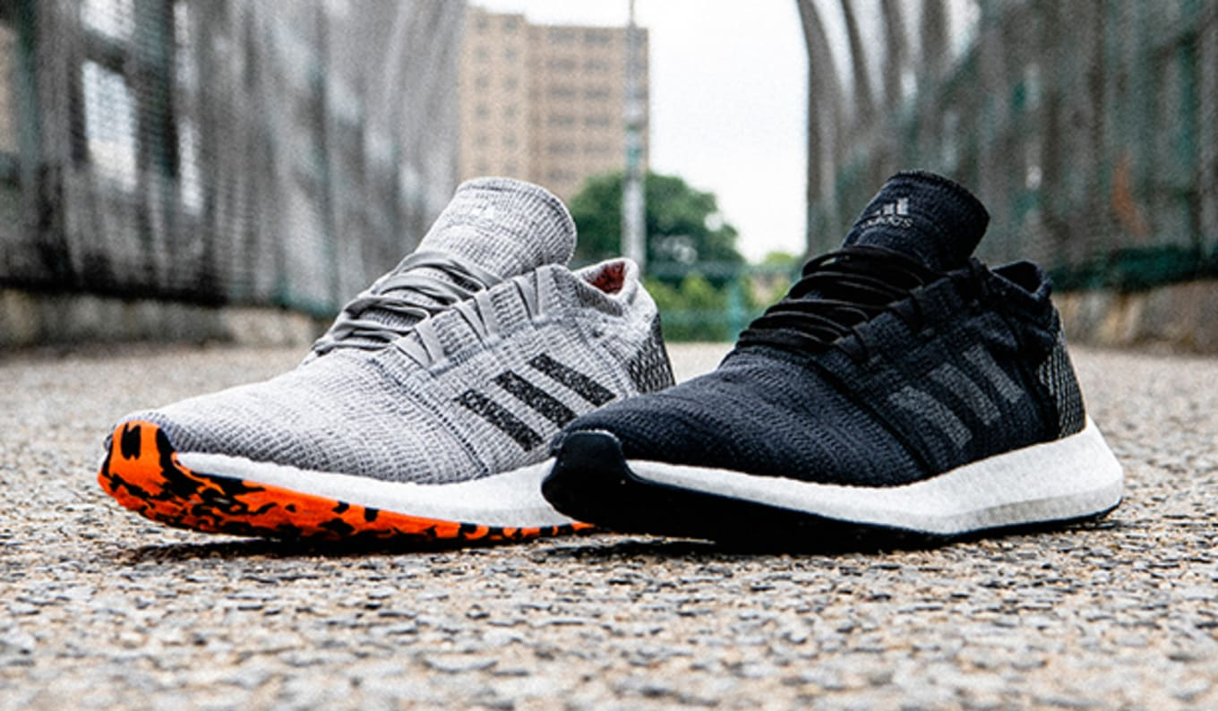 98e964ded Adidas Unveils the PureBoost Go. Made for city running.