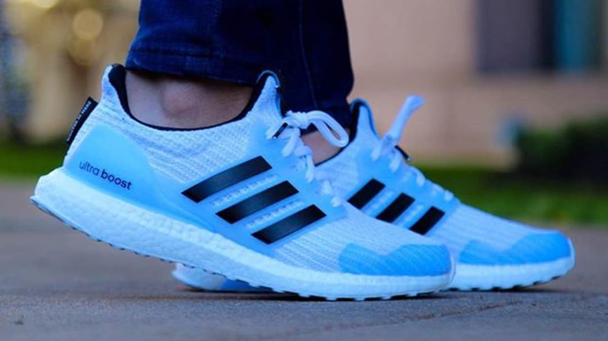 Game Of Thrones X Adidas Ultra Boost White Walkers