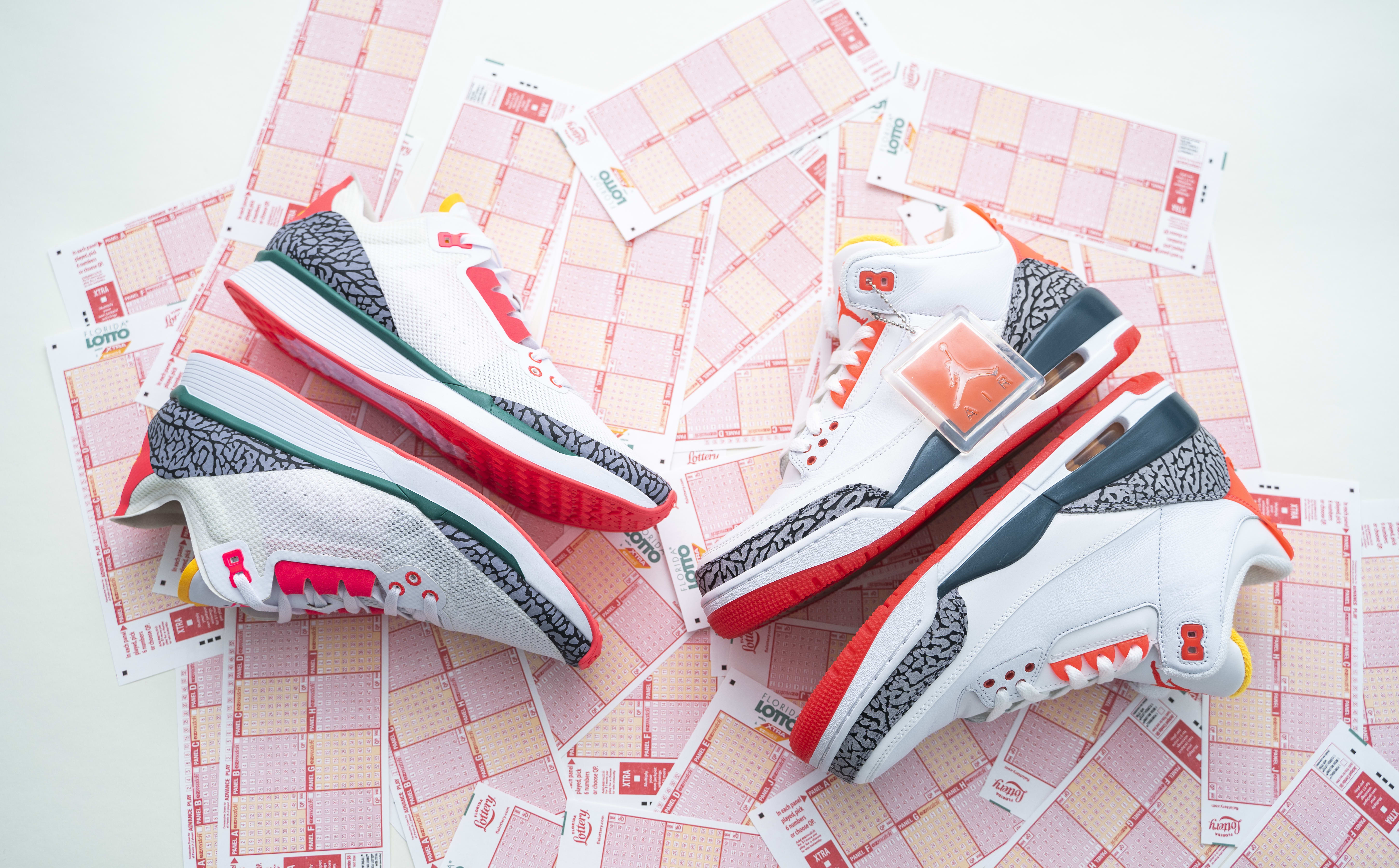 7976e09b48f0 ... free shipping solefly x jordan racer 88 florida lotto release date sole  collector 4aa40 2380f
