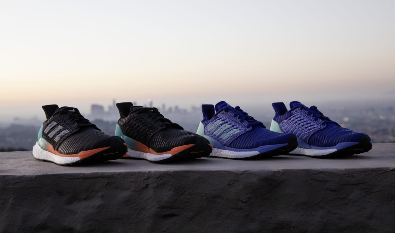 3d69849765350b Adidas Introduces the Solarboost. This new technical runner features  Tailored Fiber Placement.
