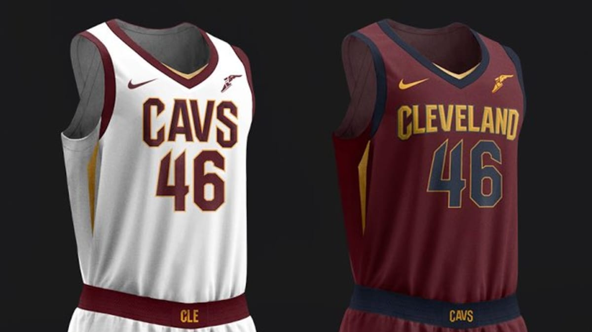 3ae3d701f Cleveland Cavaliers Unveil New Nike Uniforms. New looks for the ...