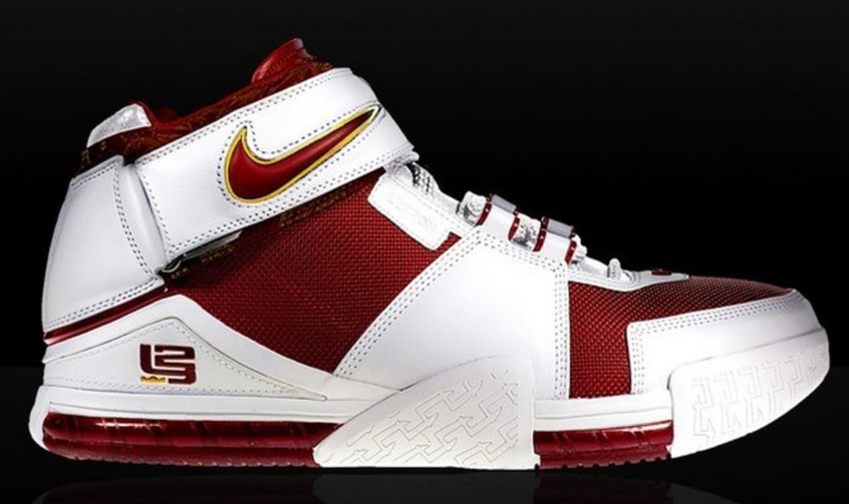 8d37c844 Nike Zoom LeBron 2 'Triple Double' PE