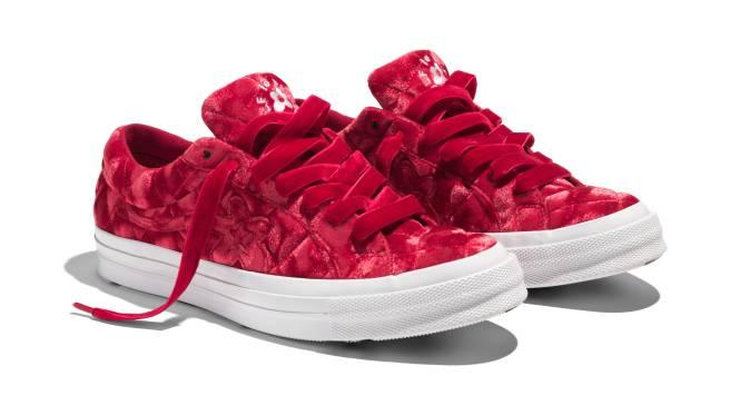 timeless design c4a21 b7c34 Tyler, the Creator s New Golf Le Fleur Sneakers Are Covered in Velvet