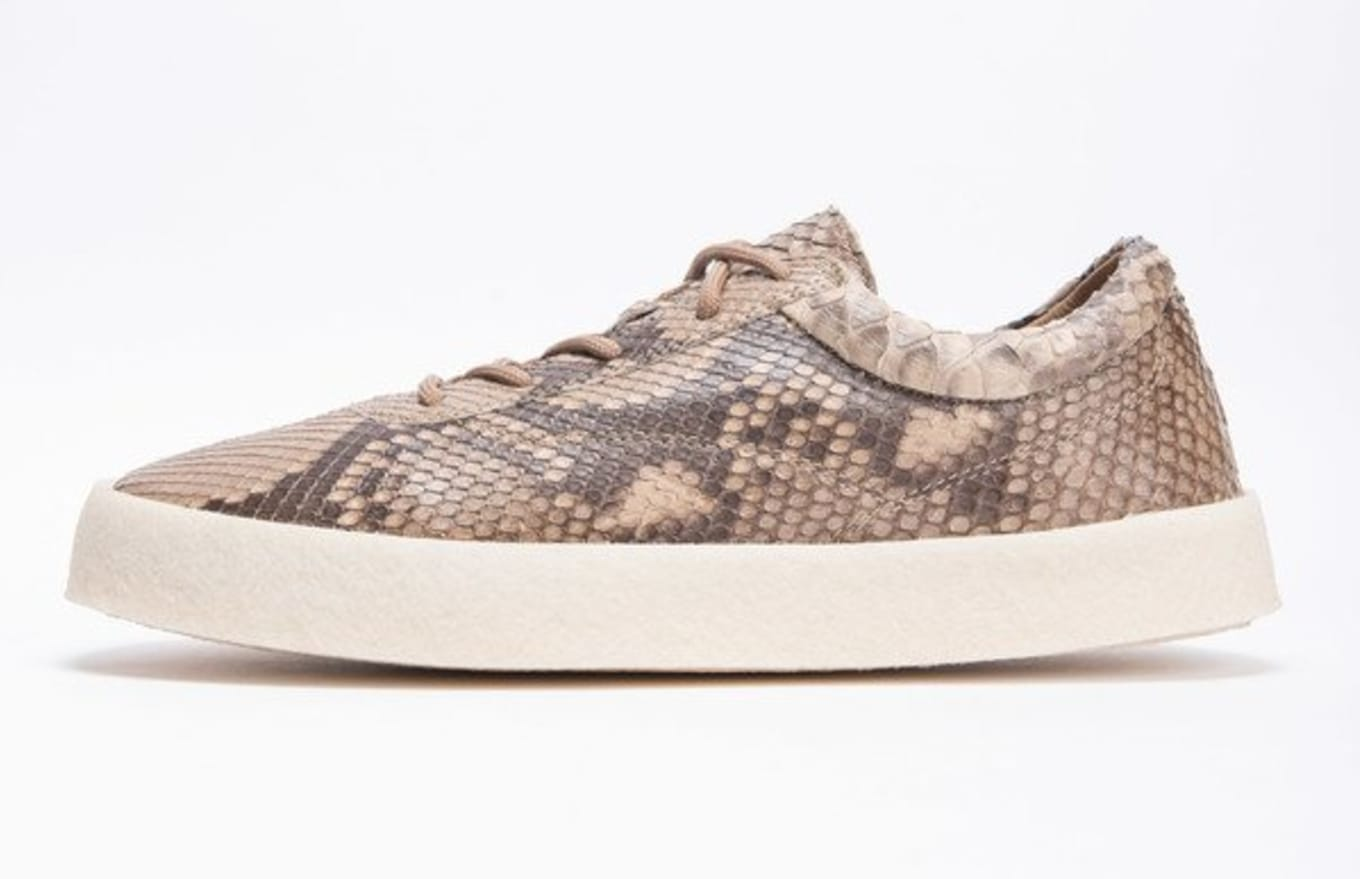 c191a18770312 Yeezy Season 6 Python Snakeskin Crepe Sneaker Images
