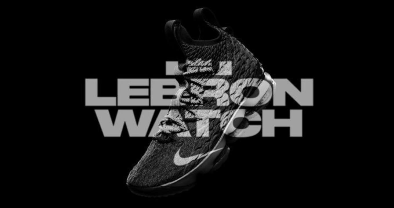 a476fdf937fce Nike Just Restocked the Full  LeBronWatch Collection