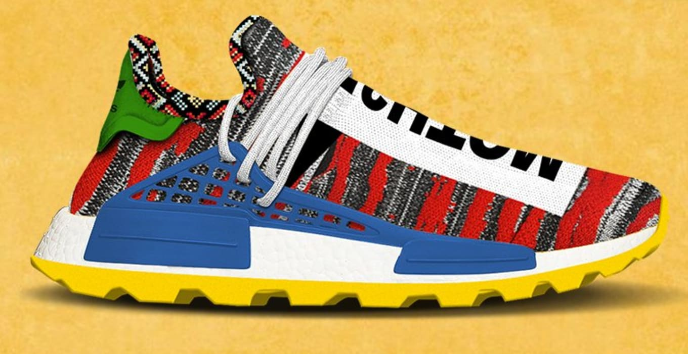 494869ef3 Pharrell s Afro NMD Hu Pack Could Drop Earlier Than Expected. Rumored for  Aug. 18.