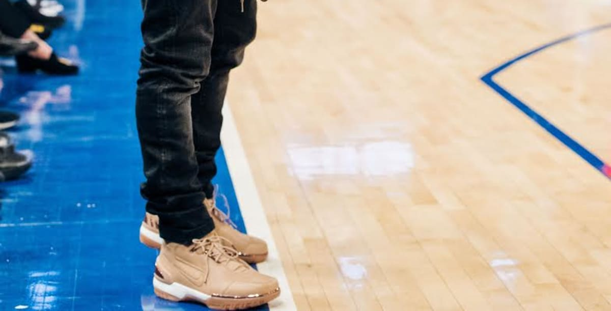 6bc3000f7933 Kevin Hart Nike Air Zoom Generation Vachetta Tan All Star Release Date  308214-200