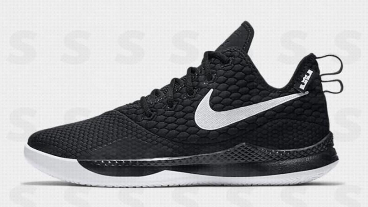 36bbfa58be5 Nike LeBron Witness 3  Black White  Release Date