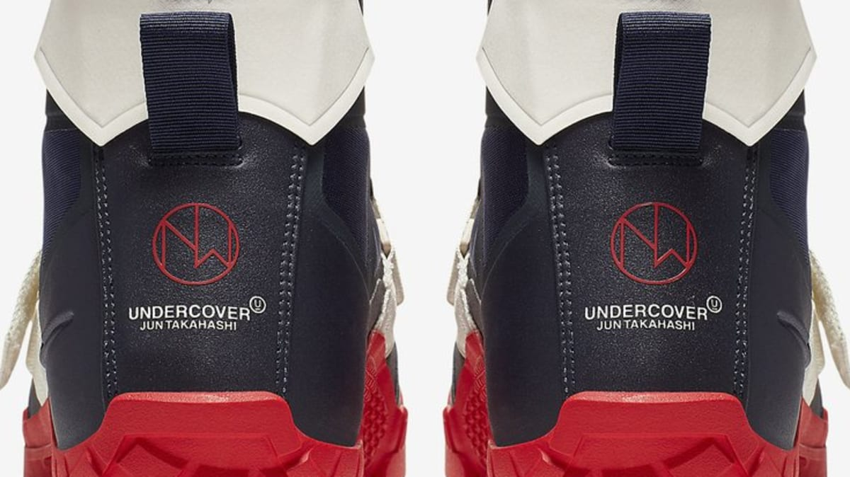 buy online 537b0 53954 Undercover x Nike SFB Mountain Boot  Obsidian University Red   Black Sail   Release Date   Sole Collector