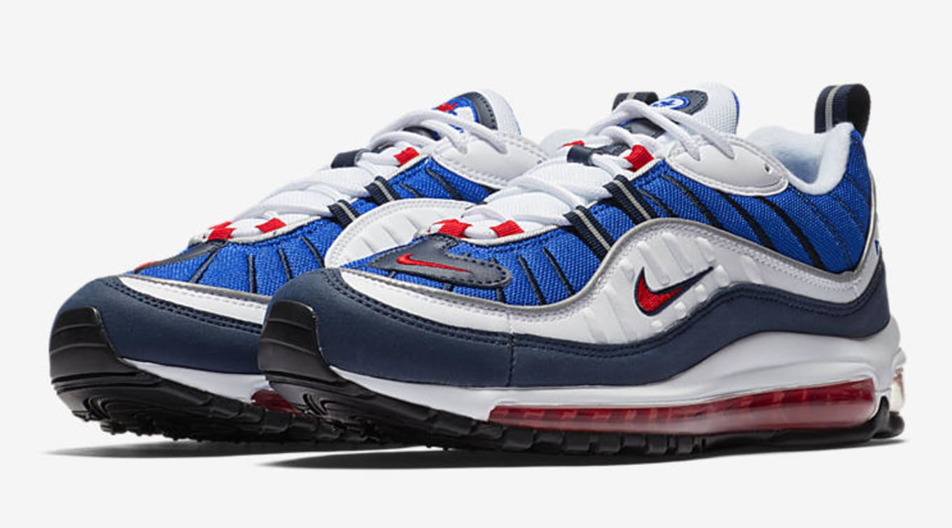 Nike Air Max 98 Gundam 640744 100 Release Date Sole Collector