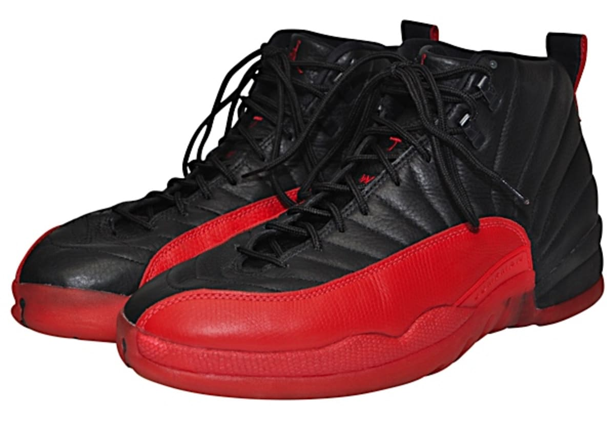 Michael Jordan Flu Game Air Jordan 12 Game 3 1997 Eastern Conference Finals | Sole Collector