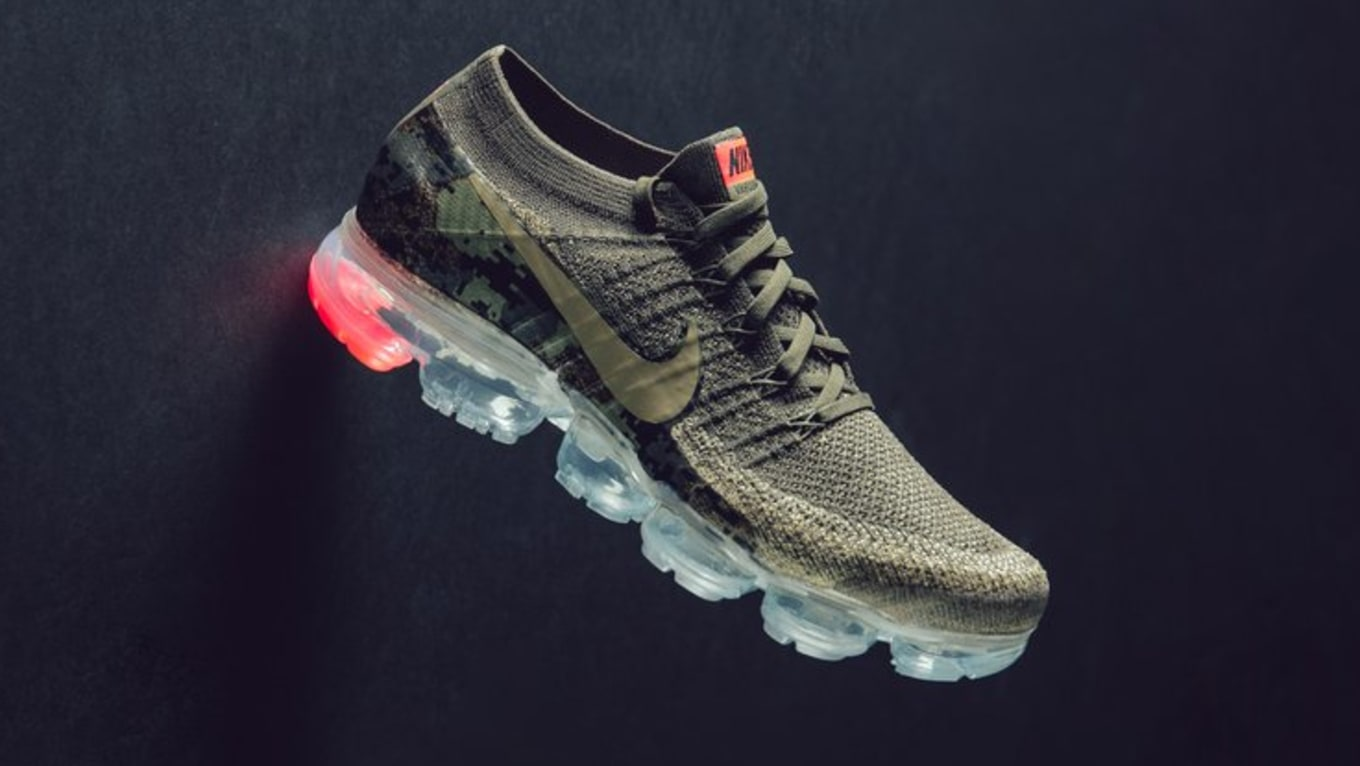 Digi-Camo Coming to the Nike VaporMax. Nike Air VaporMax  Neutral Olive   releasing soon. e8a1c68bf