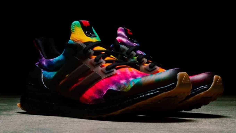 Nice Kicks x Adidas Ultra Boost 1.0 Black 'Tie Dye' Release