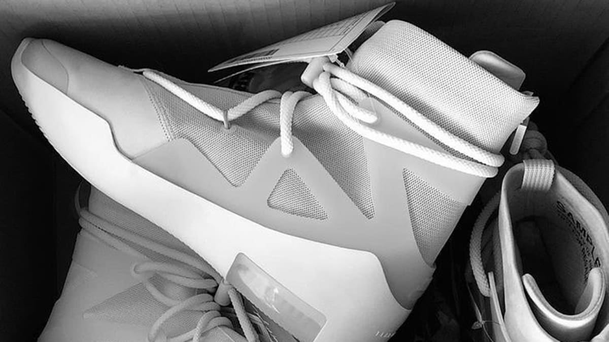 best sneakers f65b1 99ddb Jerry Lorenzo Debuts Fear of God x Nike Collab   Sole Collector