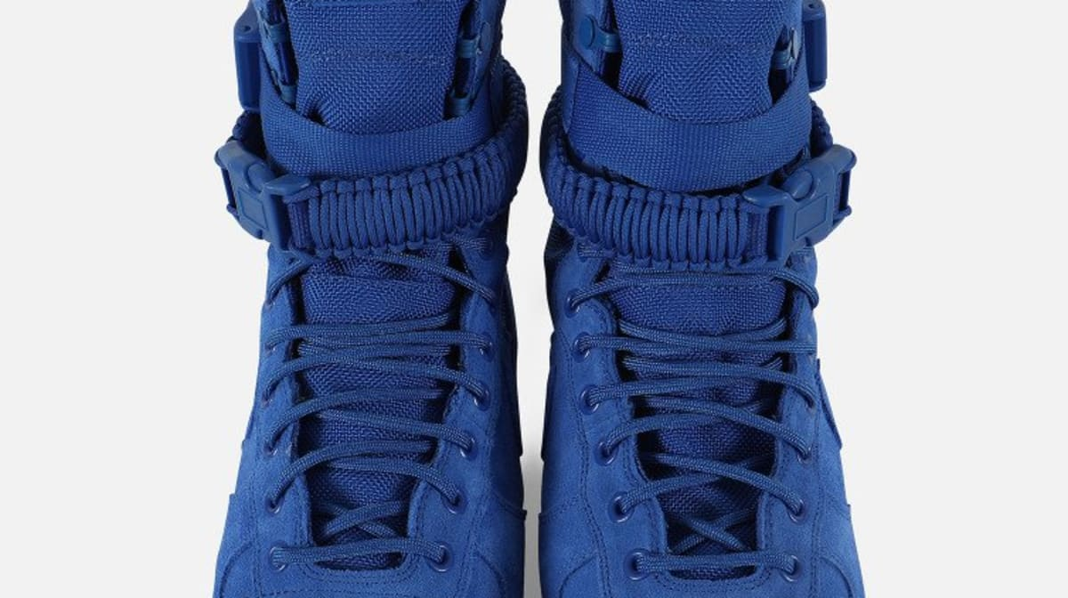 191d1ce490946 denmark nike sf air force 1 blue suede release date 864024 401 sole  collector fe5c5 236af