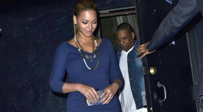 super popular 31c82 dc83e  SoleWatch  Jay-Z Has Night Out in  Cement  Air Jordan 4